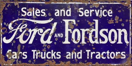 Ford Fordson Service -  Metal Wall Sign